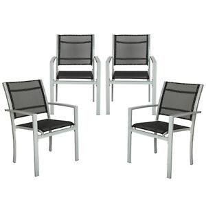 Set-di-4-sedie-da-giardino-poltrona-campeggio-metallo-arredo-giardino-grigio-nuo