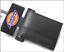 DICKIES WALLET Black Mens Bifold Wallet with Embossed logo Slim Fold