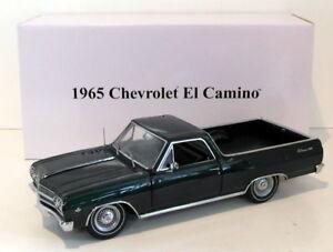 ACME-1-18-Scale-Diecast-A1805408-1965-Chevrolet-El-Camino-Pickup-Dark-Green