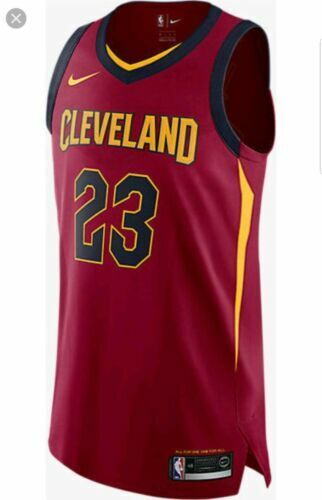 buy online cf482 c3f0e Nike Connect Aeroswift Lebron James Authentic Cavaliers Jersey Sz 52 XL 2  for sale online | eBay