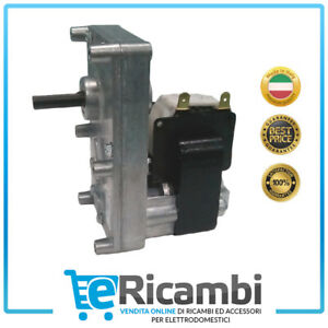 MOTORIDUTTORE per stufa a pellet T3 2 rpm PACCO 25 mm ALBERO 8,5 mm FB1187