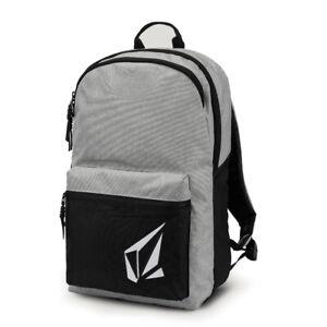 """Vintage Black Back Pack School Book Bag Volcom /""""Academy/"""" Backpack"""
