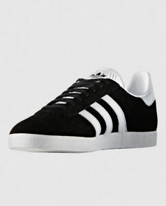 67bbdfd80f Details about NEW - ADIDAS Men's 'GAZELLE WOOD W' Black/White RUNNING SHOES  - US 8.5 / EU 42