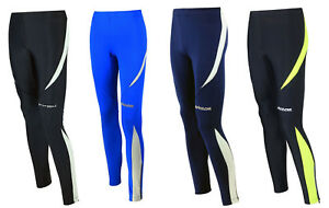 Details zu AIRTRACKS Damen Winter Laufhose Lang Pro Thermo Funktionshose Running Tight