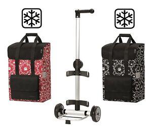 7d96011aa7e06 Das Bild wird geladen Andersen-Unus-Shopper-Alba-Thermofach-Aluminium -Einkaufstrolley-Einkaufsroller