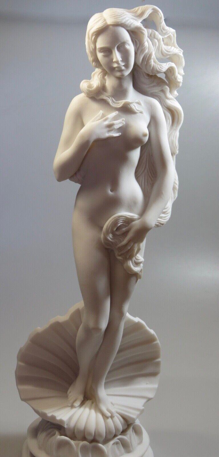 Aphrodite emergentes (fundido estatua de mármol y alabastro 41cm 16.14 Pulgadas)