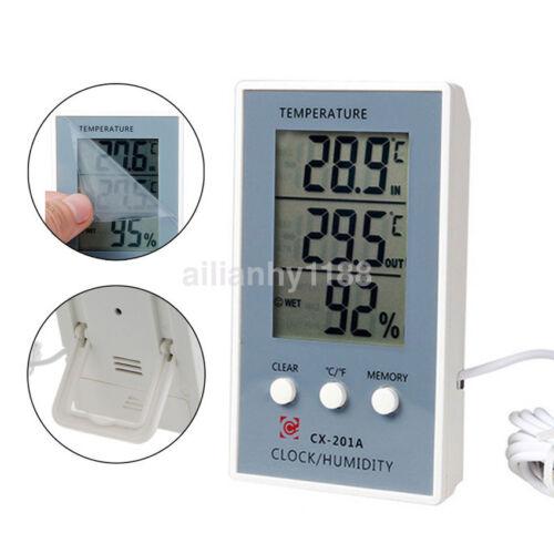 1pc LCD Digital Thermometer Hygrometer Temperature Humidity Measurer Tester UK