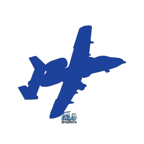A-10 THUNDERBOLT PILOT Flight vinyl Sticker CREW WARTHOG Air Force US Military