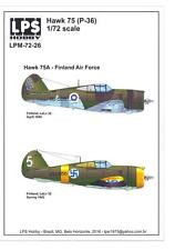 LPS Decals 1/72 CURTISS HAWK 75A Finnish Air Force 1942-1945