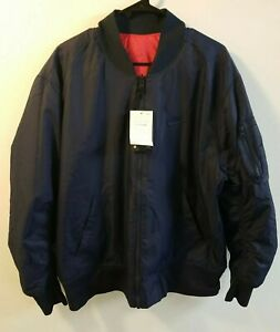 Nike Sportswear Reversible Bomber Jacket Synthetic Fill Mens SZ Large AR2183-451