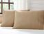 BURLAP-NATURAL-Standard-Pillow-Case-Set-2-Khaki-Tan-Cotton-Primitive-Rustic-VHC thumbnail 1