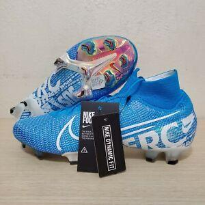 Nike-Mercurial-Superfly-7-Elite-FG-Sky-Blue-Soccer-Cleats-Size-11-AQ4174-414