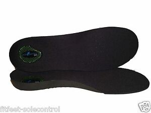 Sole Control Firm 3//4 Orthotic Insoles Arch Support Heel Cup Plantar Fasciitis