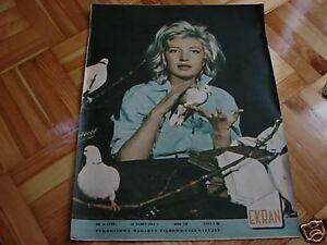 Monica Vitti front cover Polish mag. Ekran 1963 - Pyszkowo, Polska - Monica Vitti front cover Polish mag. Ekran 1963 - Pyszkowo, Polska