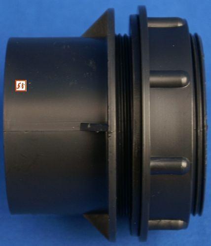 Folie PVC Durchführung 63 mm 1 x Gewinde Mut Dichtr