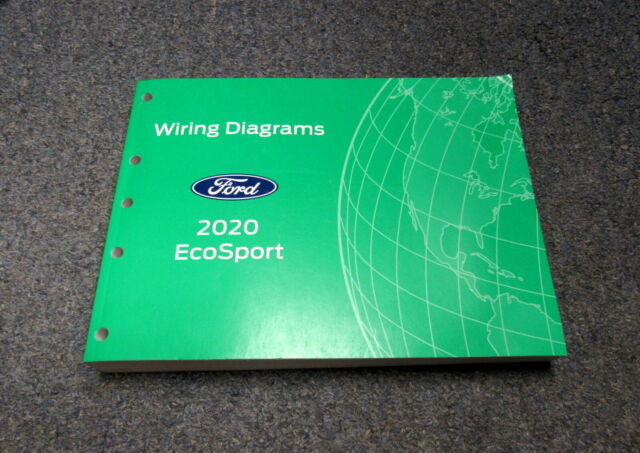 2020 Ford Ecosport Electrical Wiring Diagrams Service Manual