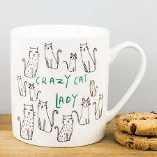 New Creative Tops Crazy Cat Lady Cartoon Kitty Cats Personalised Gift China Mug