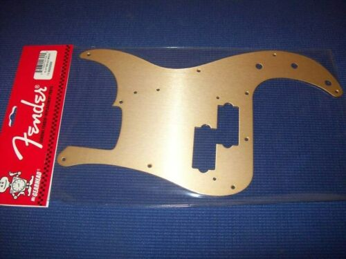 GOLD ANODIZED Bass 099-2020-000 NEW Fender Pickguard For /'57 P