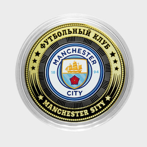 Russia 10 rubles football club  MANCHESTER SITY