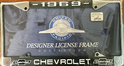 United Pacific C5041-62 License Plate Frame