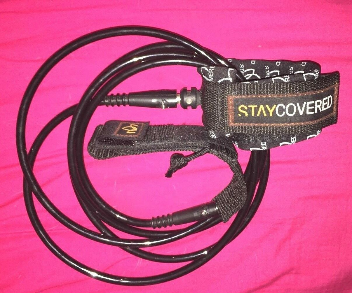 Stay Covered 8' Heavy Duty Hand Tied Surf Leash