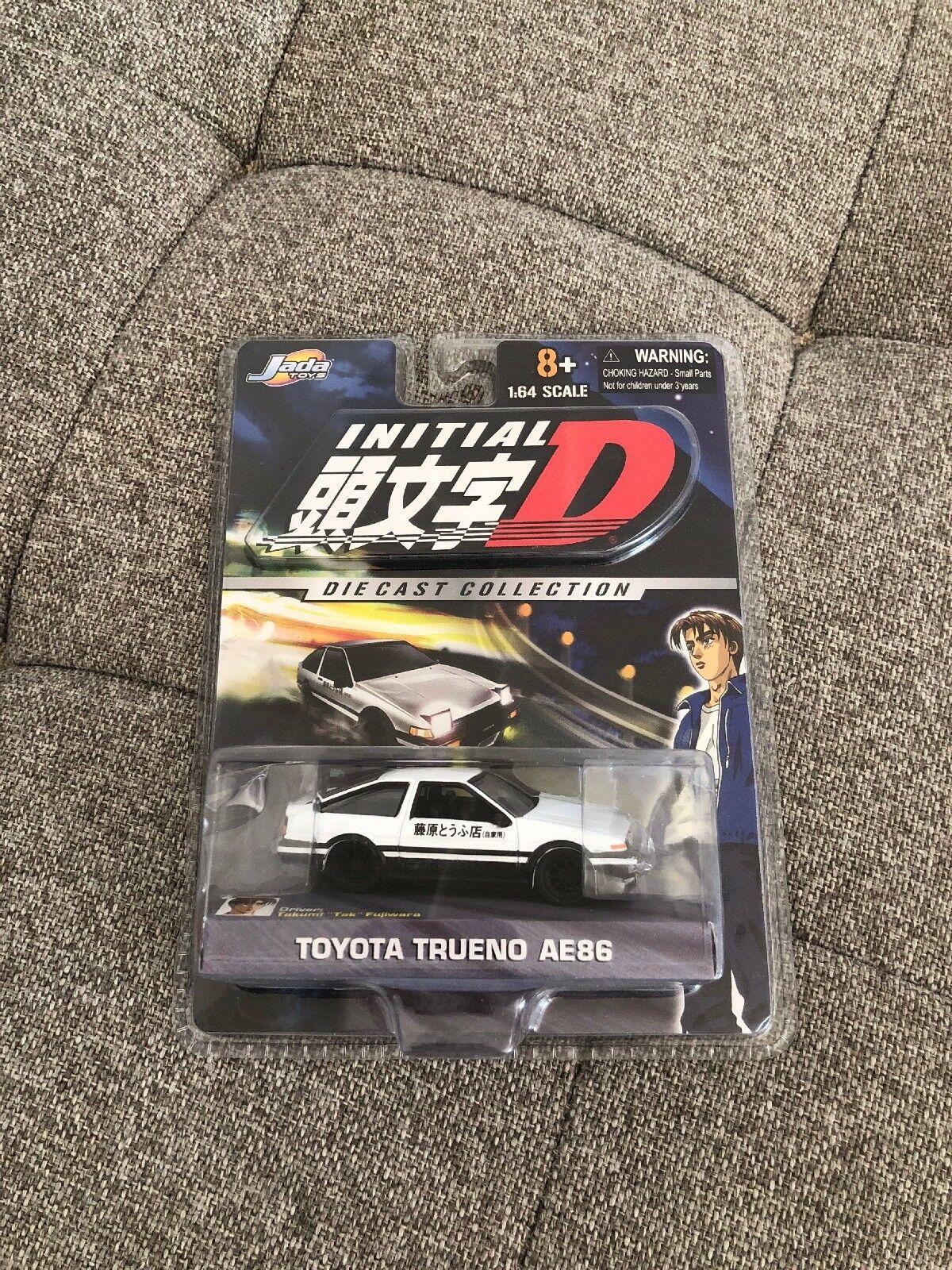 Nouveau initial D Toyota Toyota AE86 1 64 Scale Diecast Takumi Fujiwara Jada Toys