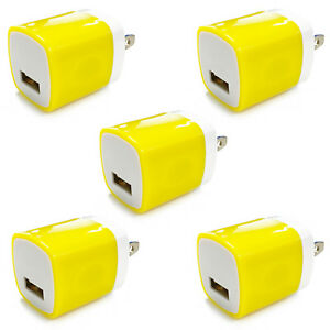 5x-USB-Wall-Charger-Power-Adapter-AC-Home-US-Plug-FOR-iPhone-6-7-8-X-Samsung-Lg