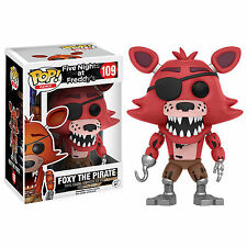 Funko Five Nights At Freddy's POP Foxy The Pirate Vinyl Figure NEW Toys
