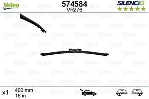 VALEO Wiper Blade Rear For FIAT PORSCHE OPEL MERCEDES Doblo Mpv Macan 1272123