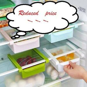 Slide-Kitchen-Fridge-Freezer-Space-Saver-Organizer-Holder-New-Shelf-Storage-A3J6