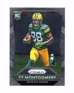 Rookie Football Card !! Ty Montgomery, 2015 Panini Prizm