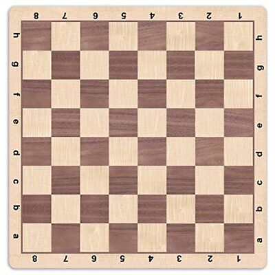 Mousepad Style 20 inches Bobby Fischer Tournament Roll Up Travel Chess Board