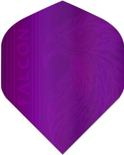 Standard Shape 5 set Pack Dart Flights FALCON DARTS™ Vivid Colour Dart flights