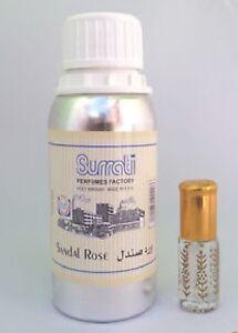 Sandal Rose Con Perfume Oil Attar by Surrati perfumes 3ml,6ml,12ml ,36ml