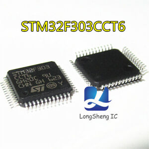 5pcs-Original-STM32F303CCT6-LQFP-48-32-bit-Microcontroller-ARM-Cortex-M4-256KB