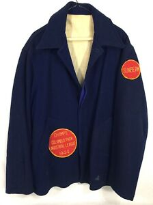 1944 Champs Sunbeam Columbus Park Industrial Baseball League Jacket #A18