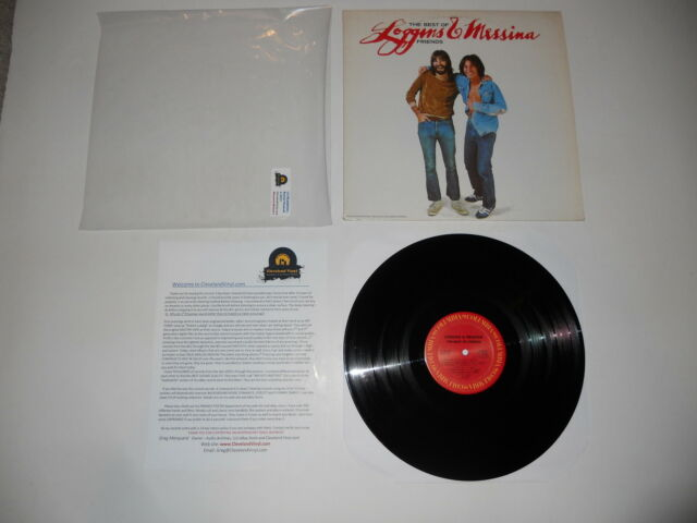 Loggins and Messina The Best of Friends 1978 2nd Analog EXC Press ULTRASONIC CLN