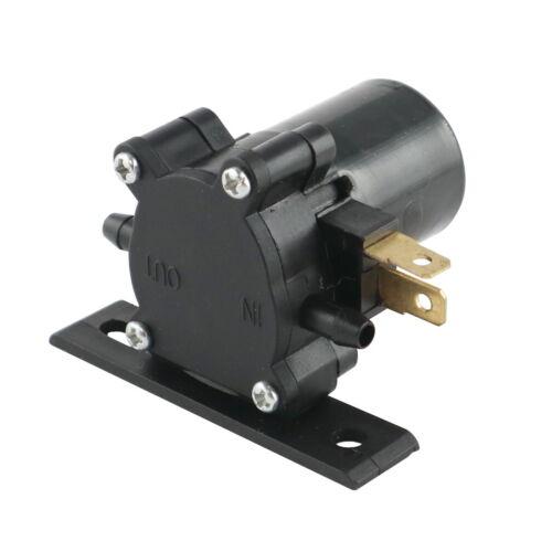 12V- 1,5l//min. Anschluss seitlich Zahnrad-Wasserpumpe selbstansaugend
