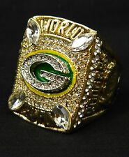 Aaron Rodgers 2010 Replica Superbowl Ring Green Bay Packers Championship Size 13