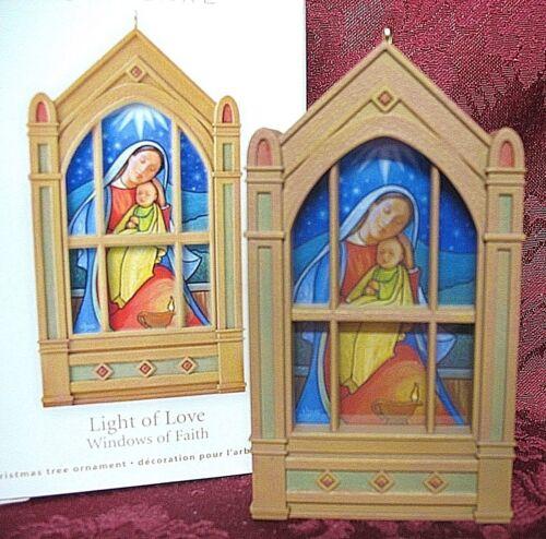 HALLMARK 2011 WINDOWS OF FAITH SERIES #2 ~ LIGHT OF LOVE
