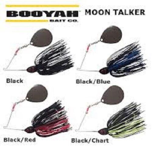 Booyah Moon Talker Spinner Bait, BYMT Model, Choice of Size & Colors
