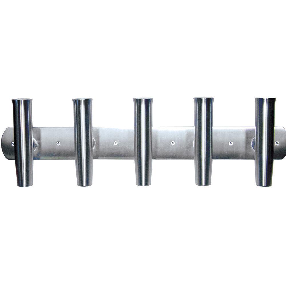 Tigress Aluminio travesaño montaje de la barra 88144 5 Rod Holder - 35