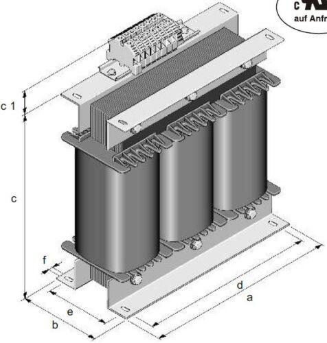 /& Sek Wähle die Leistung 3x 100V Dreiphasen Spartrafo Prim 750V,transformer