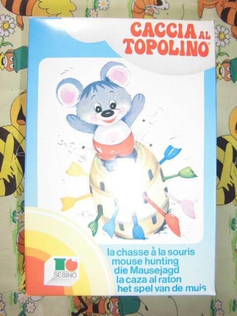 Gioco Caccia Topolino Botte Pirata SEBINO Toys