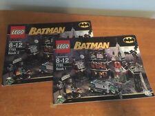 Lego 7785 INSTRUCTION BOOK: Batman Arkham Asylum * BOOK ONLY!