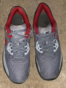 7f16ad3839 Nike Air Max 90 Ultra SE (GS) Stealth Gym Red 844599 007 Size 6.5Y ...
