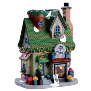 NUOVO-Lemax-Village-COLLECTABLES-Fiore-Patch-House-miniatura-FAIRY-GARDEN