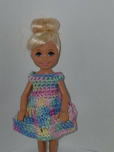 Kelly Mattel doll clothes Hand crocheted Chelsea