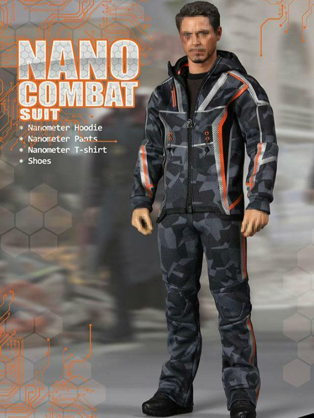 Preorder 16 Scale SUPERMCgiocattoli F080 Nano Combat Suit 12in cifra Clothes