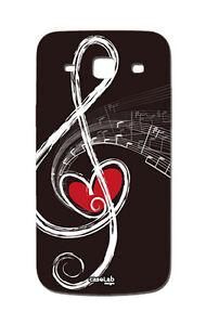 Custodia Cover Case Chiave Di Violino Col Cuore Per Galaxy Core Plus